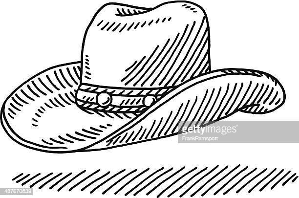 Cowboy Hat Drawing