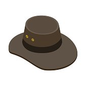 Sombrero Akubra Fotos e ilustraciones de stock - Imágenes libres de ... def3915c5b3
