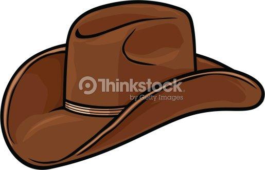 Chapéu De Cowboy Arte vetorial  2382ce4e27e