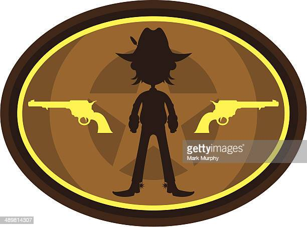 Cowboy in Silhouette