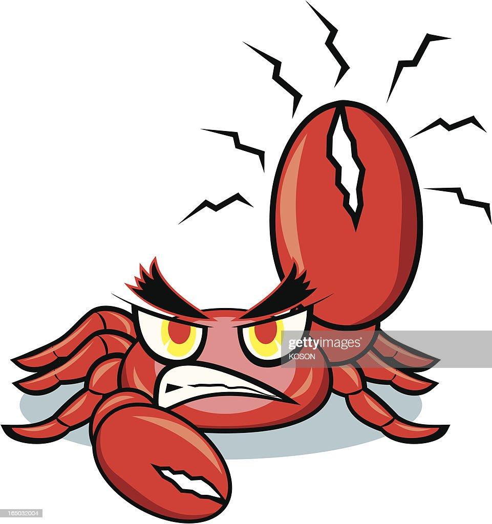 crab cartoon vector art getty images