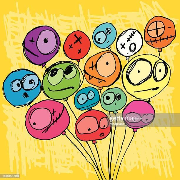 Crazy balloons!