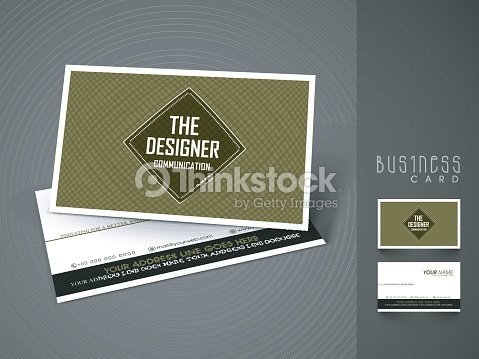 Creative business or visiting card design vector art thinkstock creative business or visiting card design vector art reheart Gallery