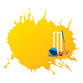 cricket item place with blank space for write you text