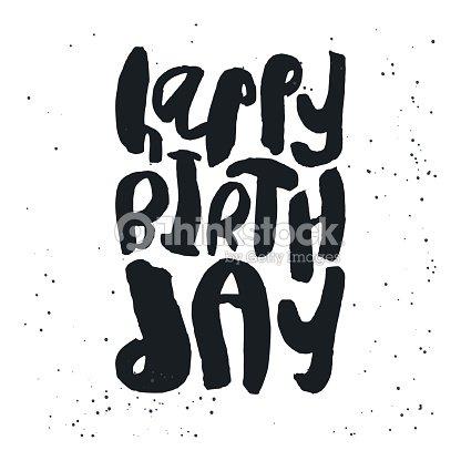 Creative Happy Birthday Card Template Vector Art Thinkstock
