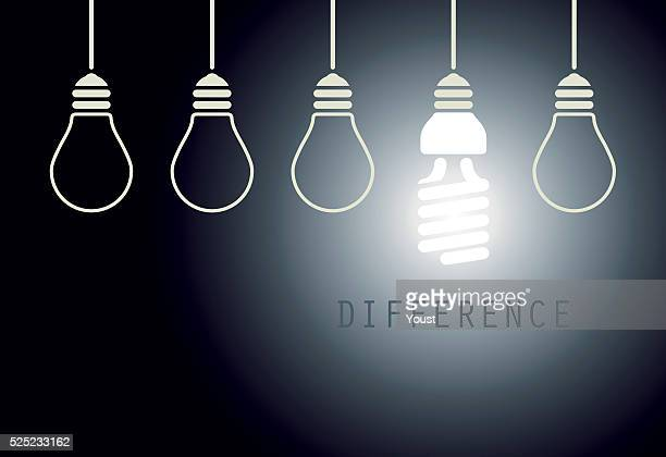 Creative Light Bulb Idea