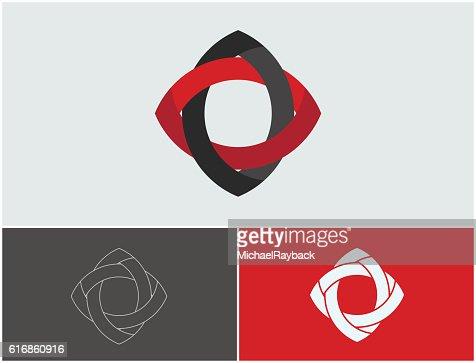Creative logo design. Minimalistic  element. Simple : Vector Art