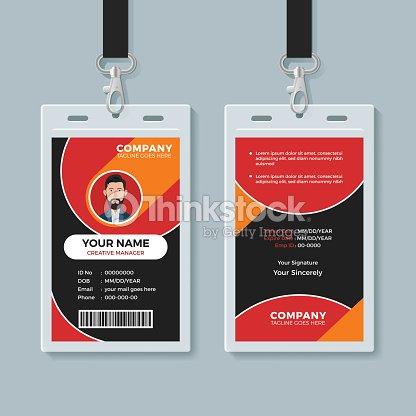 Creative Multipurpose Id Card Design Template Vector Art | Thinkstock