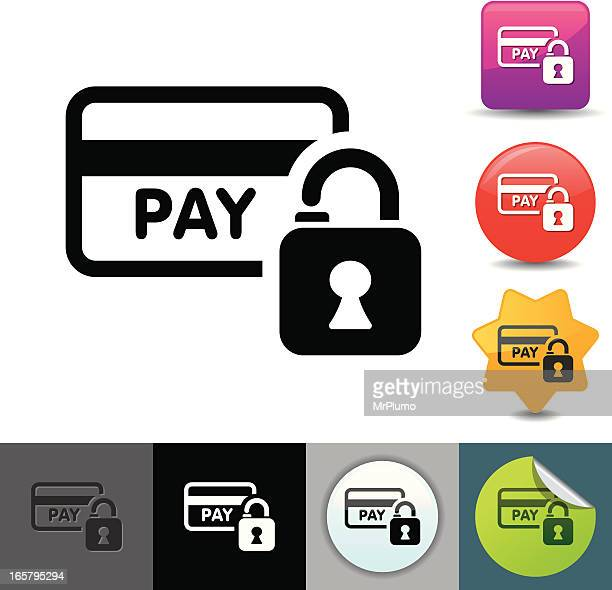 Credit card security icon | solicosi series
