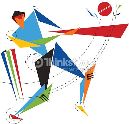Cricket batsman vector art vector art thinkstock for The cricket arts and crafts