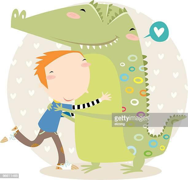 croc hug!