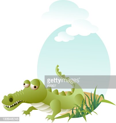 Crocodile : Vector Art