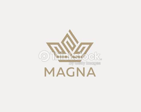 Creation De Couronne Fleur Logo Icone Vector Logotype Spa De Prime