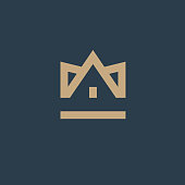 Vector design element. Real estate. House icon