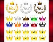 Crown Number Of Laurel.  Ranking.