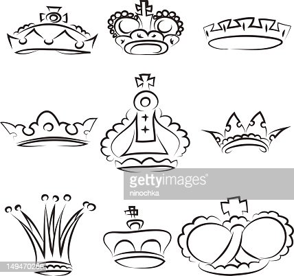 crowns : Vectorkunst
