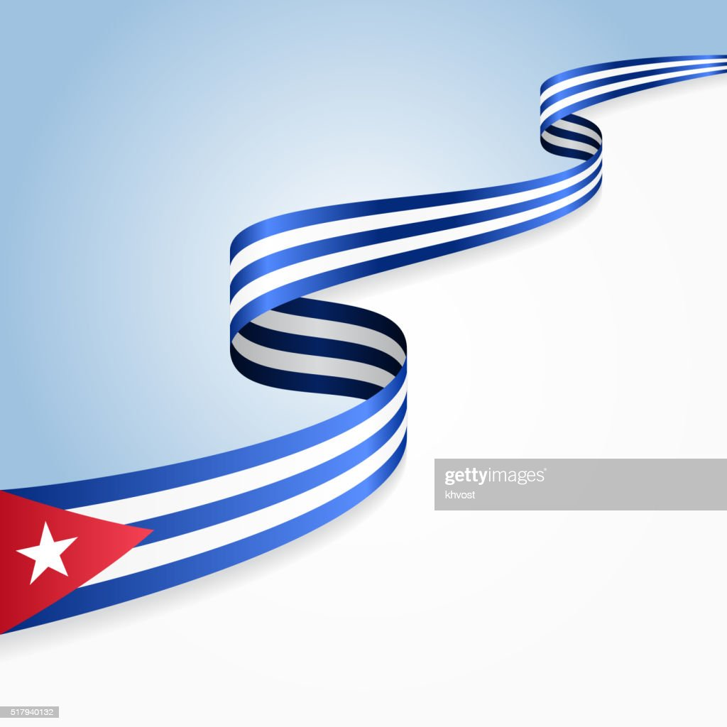 Cuban Flag Background. Vector Illustration : Vector Art