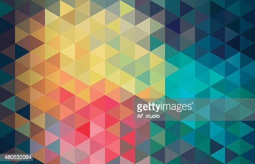 Cube diamond abstract background : Vector Art