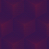 Cube pattern Abstract geometric background. Magenta purple gradient background, Light Cubes. Futuristic technology 3D style, Vector art illustration