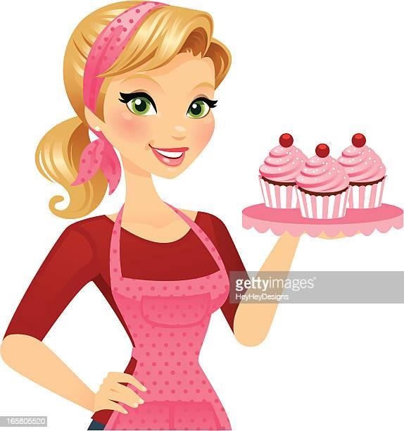 Cupcake-Mädchen