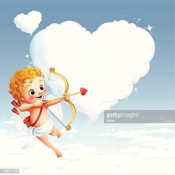 Amor-Herz Wolke