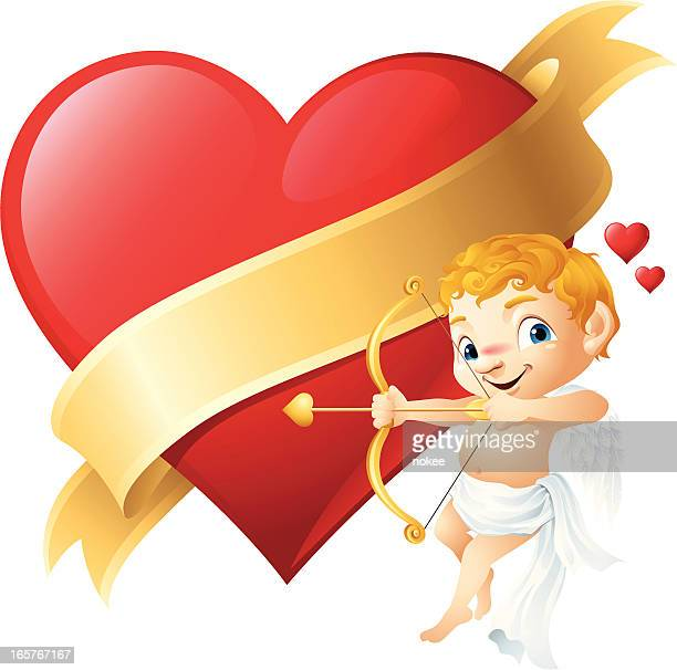 Amor-Valentinstag Herz