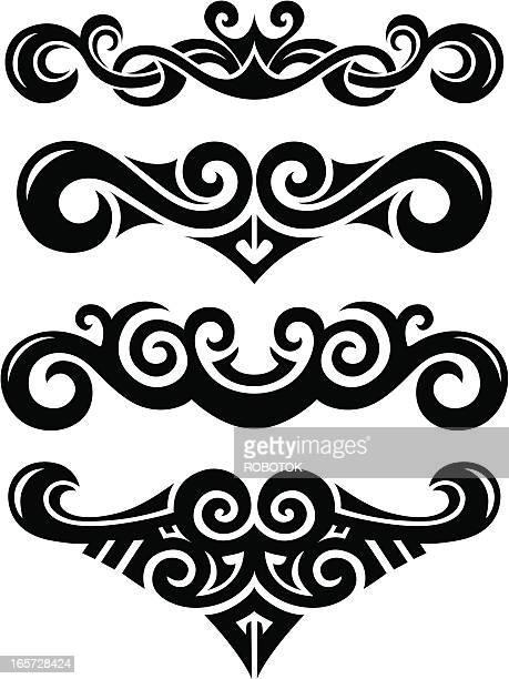 マオリ族のベクターイラストとグラフィック素材マオリ族のベクターイラストとグラフィック素材
