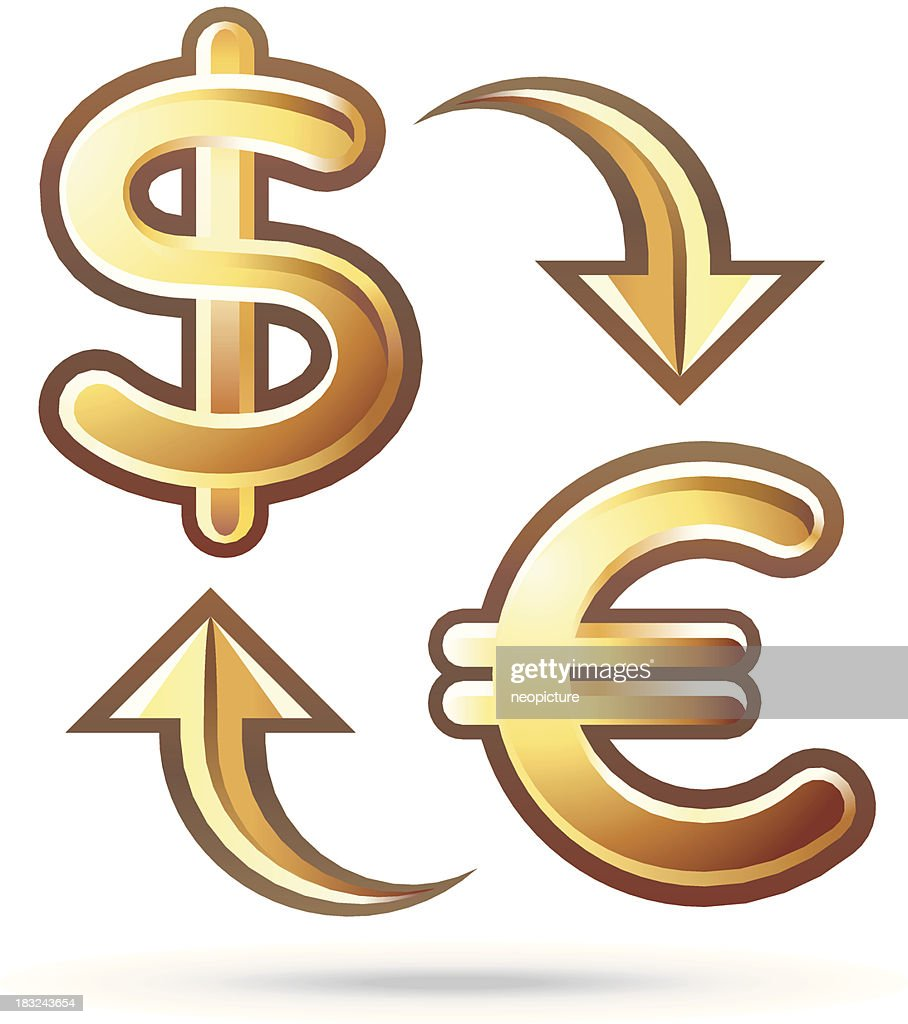Currency conversion : Vector Art