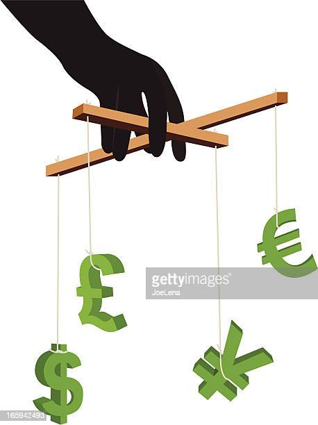 Currency Symbol Puppets (Playing with money)