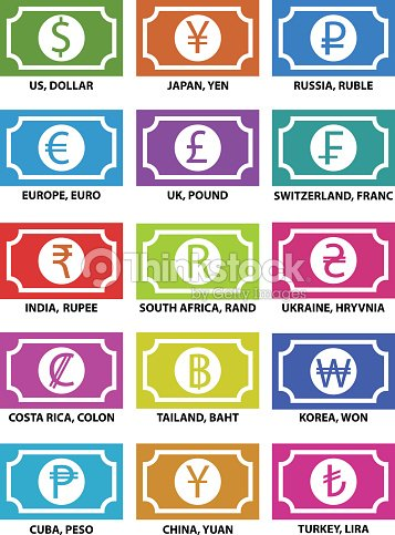 Currency Symbols Vector Art Thinkstock