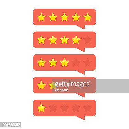 Customer feedback concept. : stock vector