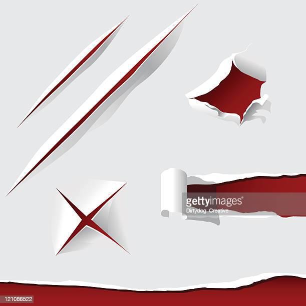 Cut, Torn & Punctured Paper