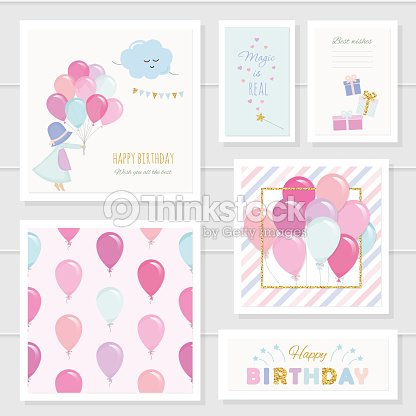 Cute Birthday Cards For Girls With Glitter Elements Included