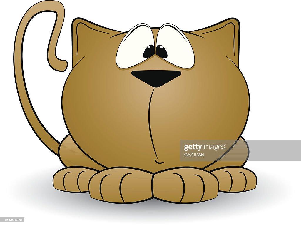 Cute Cat : Vector Art
