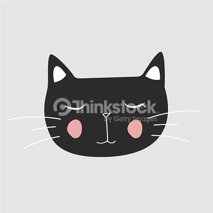 Cute Cattshirt Print Valentines Day Animal Drawing Cartoon Character