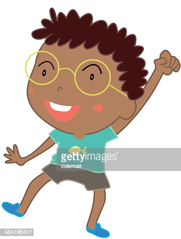 Engraçado Criança : Arte vetorial
