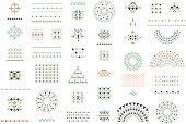 Trendy  backgrounds and logotypes. Vector. Isolated.
