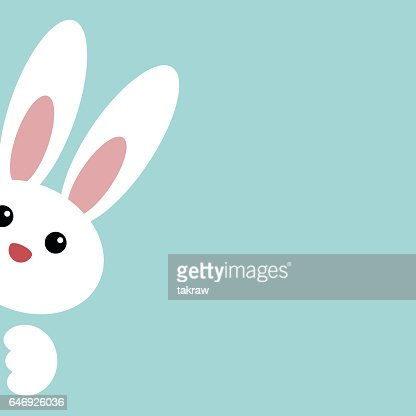 Cute Easter Bunny : stock vector