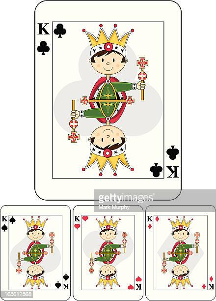 Cute King Playing Card