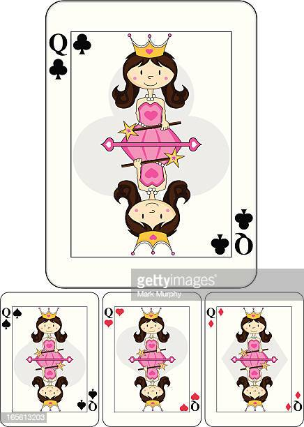 Cute Queen Playing Card