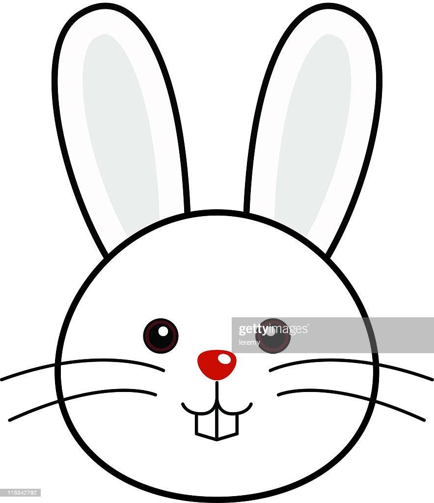 cute rabbit vector vector art getty images
