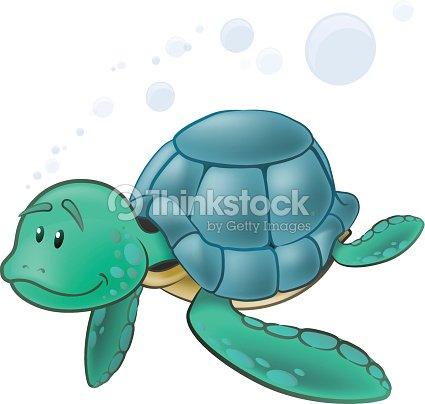 Cute Sea Turtles Clip Art