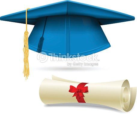 Ciano Tocco Accademico E Diploma E Cappello Di Laurea Arte ... c7427257e10e