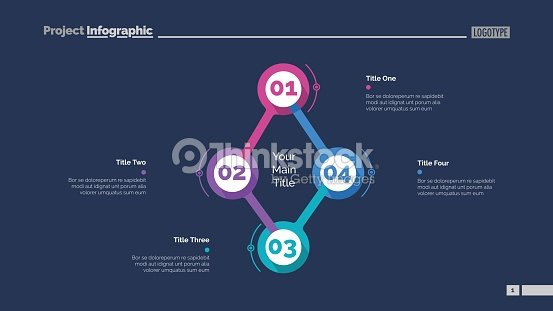 Cycle Flowchart With Four Elements Slide Vector Art | Thinkstock