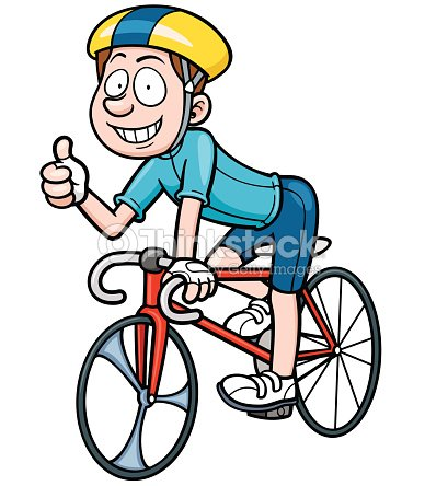 Cyclist Vector Art Thinkstock