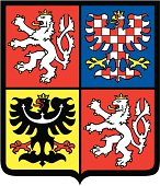 Czech republic coat of arms.