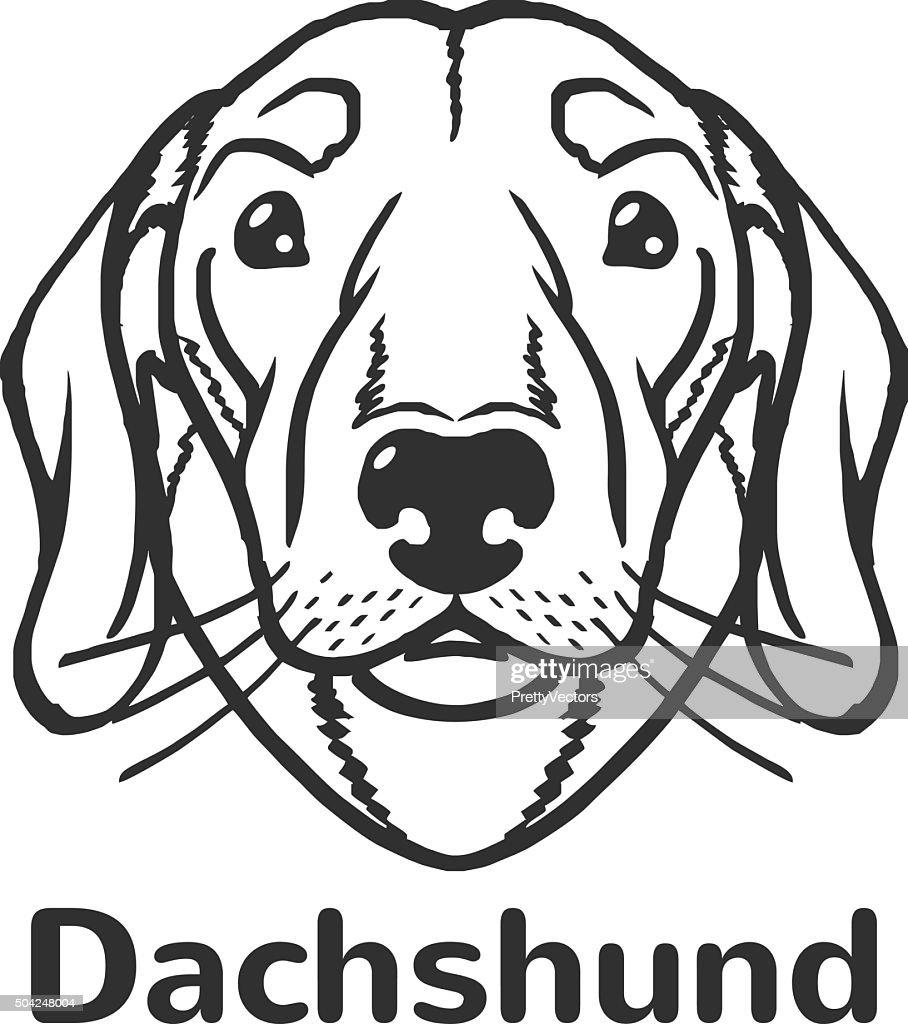 dachshund vector black icon logo illustration vector art thinkstock Black GG Logo dachshund vector black icon logo illustration