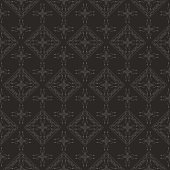 Antique damask decorative wallpaper, vector Baroque Style for your design.