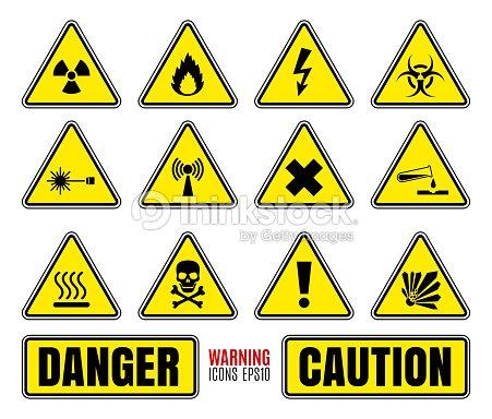 Danger Symbols Vector Art Thinkstock