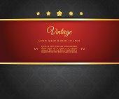 Vector illustration of Dark design template eps 10